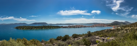 aegean sea: Ermioni peninsula, Peloponnese, Greece
