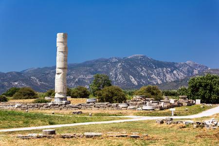 Hereon of Samos, Greece Stock Photo