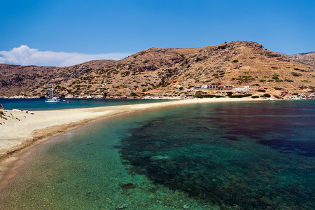 Kolona beach, Kythnos island photo