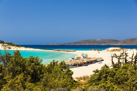 places of interest: Elafonissos Simos beach, Greece