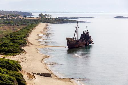 peloponnesus: Gythio beach Shipwreck