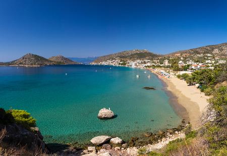 peloponnesus: Tolo resort sandy beach in Greece