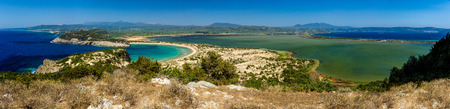 biotope: Voidokilia beach, Gialova lagoon, Navarino gulf