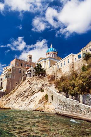 nicholas: Syros island, Greece, Church of Saint Nicholas