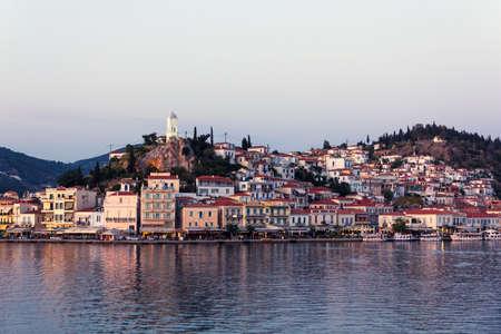 poros: Poros village and port, Greece