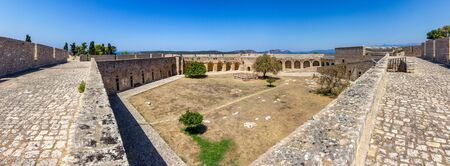 peloponnesus: Medieval castle in Pylos, Greece