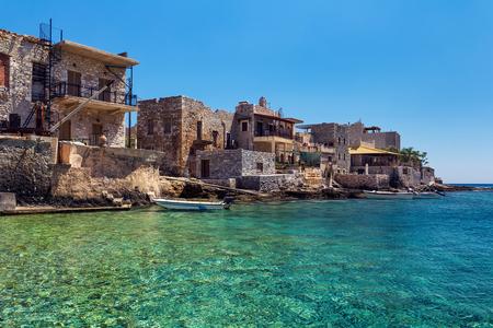 peloponnesus: Gerolimenas traditional village in Greece Stock Photo