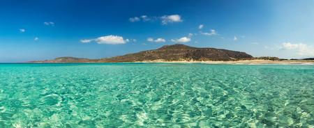 peloponnesus: Elafonissos magic beach, Peloponnese, Greece; Stock Photo