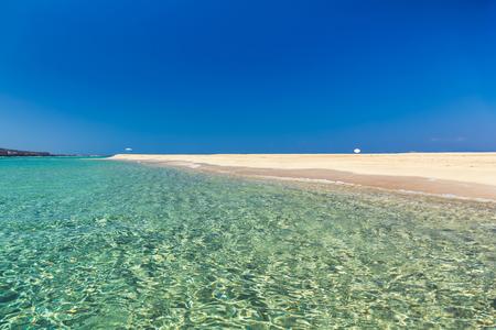 peloponnesus: Pounda exotic beach in Peloponnese, Greece