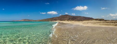 peloponnesus: Elafonissos exotic beach in Peloponnese, Greece