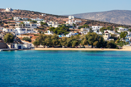 cyclades: Iraklia island in Cyclades, Greece