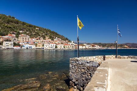 peloponnesus: Gytheio city in Peloponnese, Greece Stock Photo