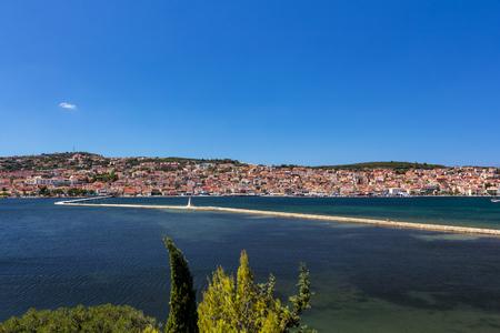 cefalonia: Argostoli city in Kefalonia, Greece