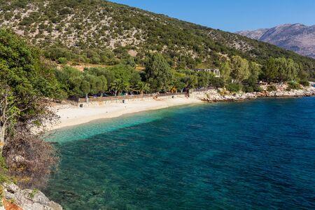 cefalonia: Exotic beach in Kefalonia, Greece