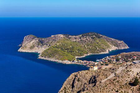 cefalonia: Assos peninsula in Kefalonia, Greece