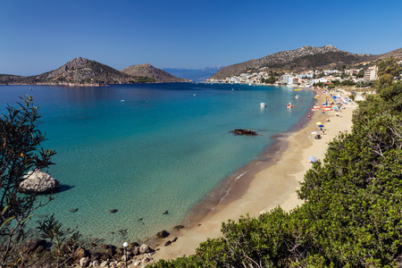 peloponnesus: Tolo resort sandy beach, Greece