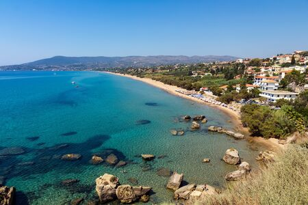 messinia: Koroni beach in Peloponnese, Greece