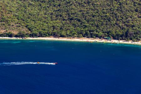 cefalonia: Antisamos beach in Kefalonia, Greece Stock Photo
