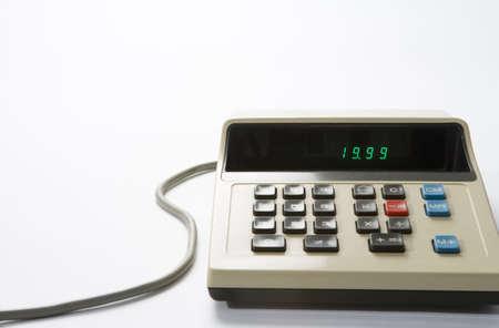 accountancy: Retro Style Desk Calculator