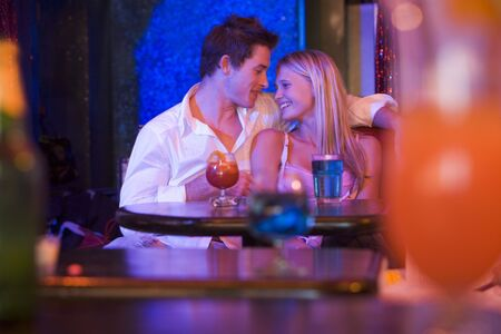 Couple In Bar Stock Photo - 2901654