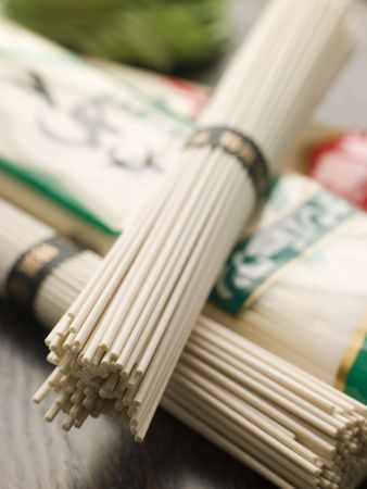 Selection of Oriental Noodles Stock Photo - 3131369
