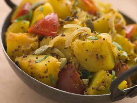 Bombay Aloo - Curried Potatoes photo