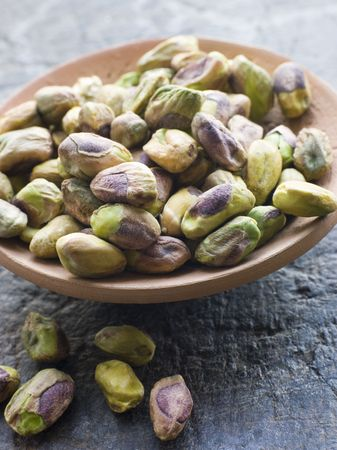 noone: Dish of Pistachio Nuts