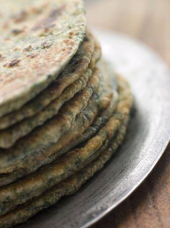int: Stack of Sag Roti