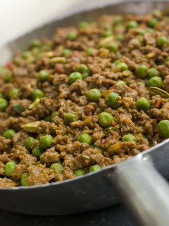 Keema Curry and Peas Stock Photo - 3131771