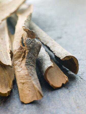 noone: Cinnamon Bark Stock Photo