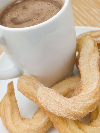 churros: Churros and Hot Chocolate