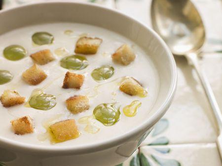blanco: Ajo Blanco- White Garlic Soup