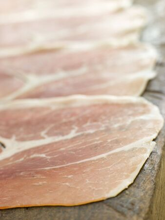 noone: Slices of Serano Ham