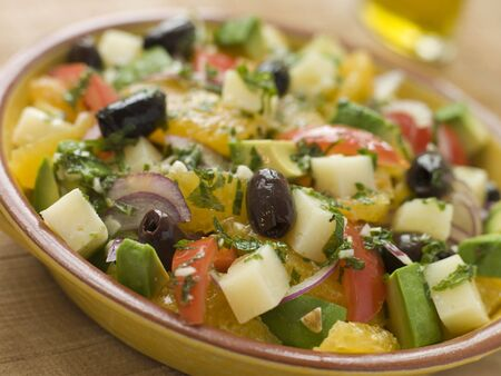 valencian: Bowl of Valencian Salad