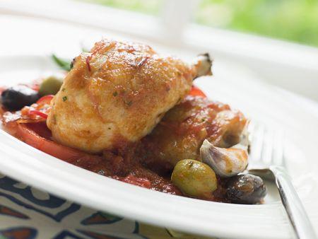 mea: Chicken Chilindron- Pollo al Chilindron