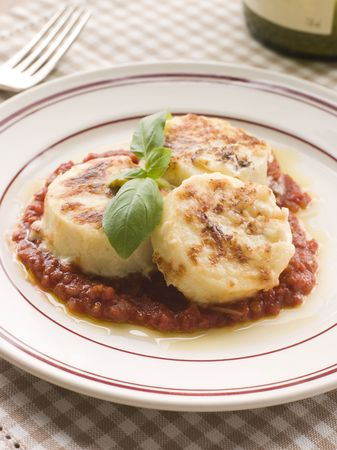 Gnocchi Romana with Tomato Sauce photo