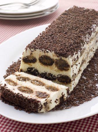 pudding: Terrine of Tiramisu