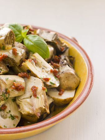 Marinated  Artichoke Salad with Sun Dried Tomatoes photo
