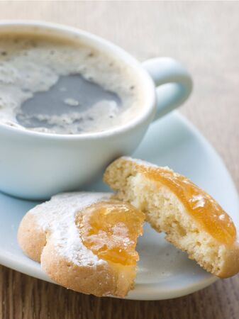 Margherite Biscuit with Espresso photo