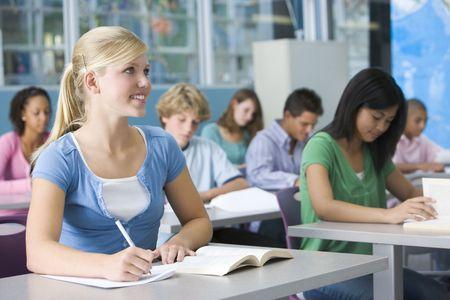 tanulás: Tanulók földrajz osztályban