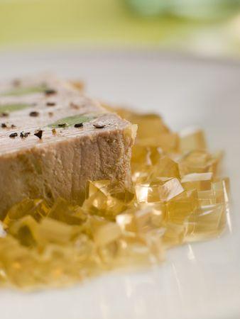 sauternes: Foie Gras and  Leeks with Sauternes Jelly