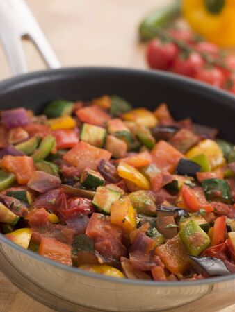 Ratatouille in a Saute Pan photo