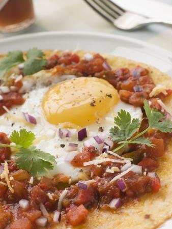 huevos estrellados: Huevos Rancheros