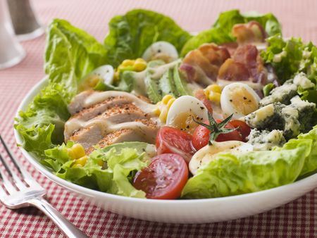 American Cobb Salad Stock Photo - 3444043