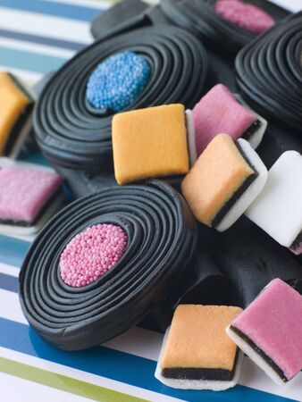 Selection of Liquorice Stock Photo - 3444108