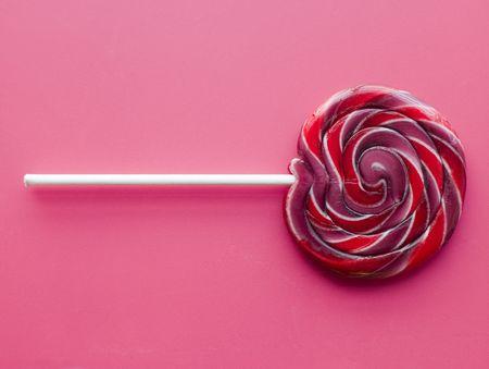 lollypop: Spiral Fruit Lollipop