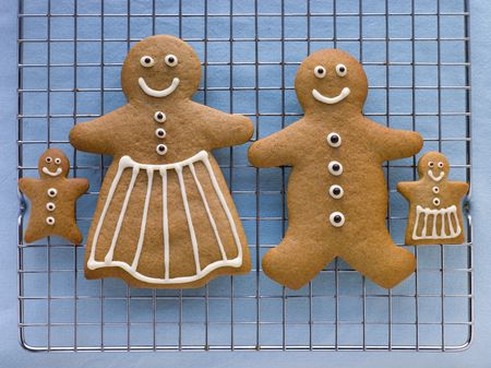childrens meal: Gingerbread Family