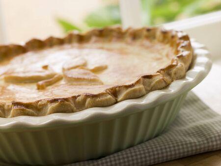 uk cuisine: Baked Short Crust Pastry Pie