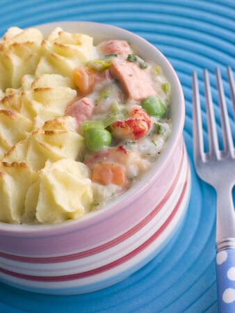 Individual Fish Pie photo