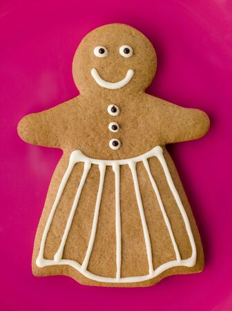 gingerbreadman: Gingerbread Woman Stock Photo